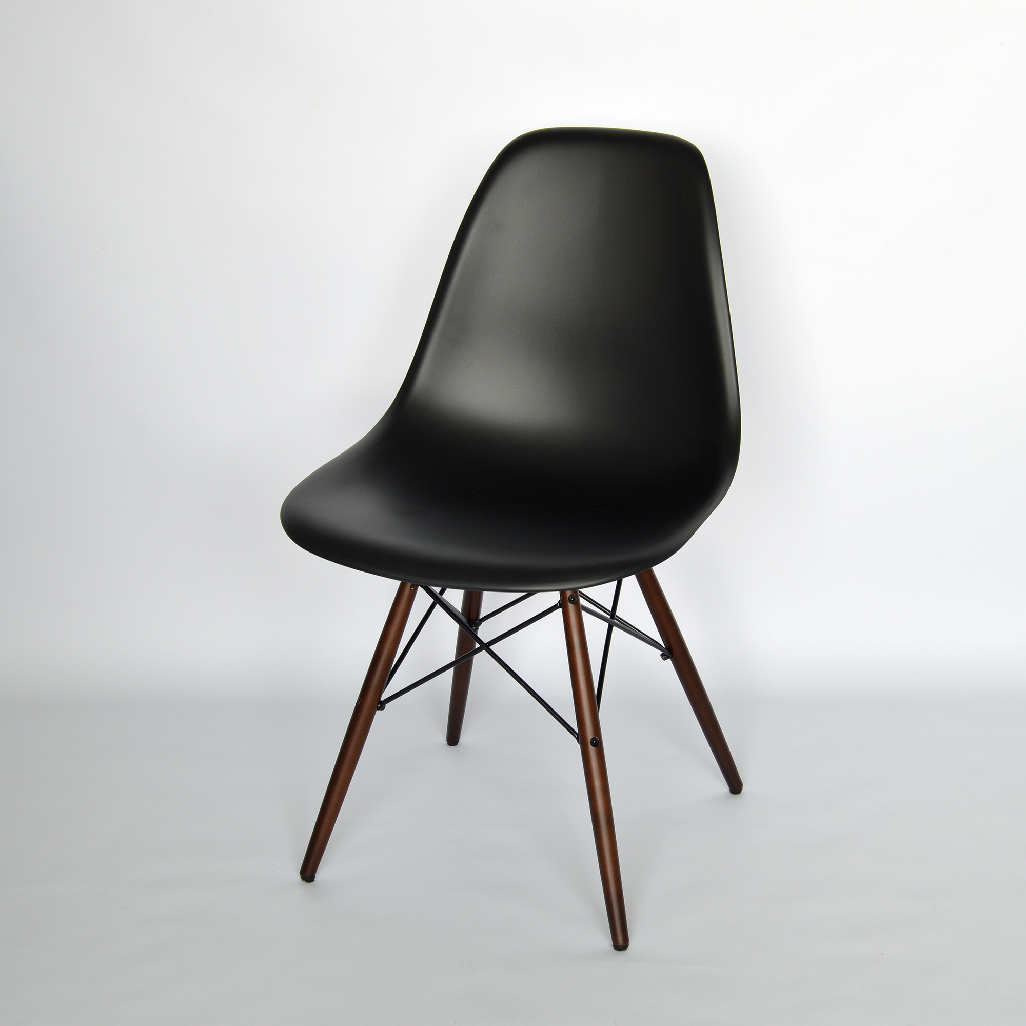 vitra eames plastic side chair dsw schwarz neue. Black Bedroom Furniture Sets. Home Design Ideas