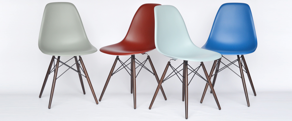 Eames Plastic Side Chairs Neue Farben