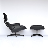 Vitra Lounge Eames Chair XL Black Edition 01
