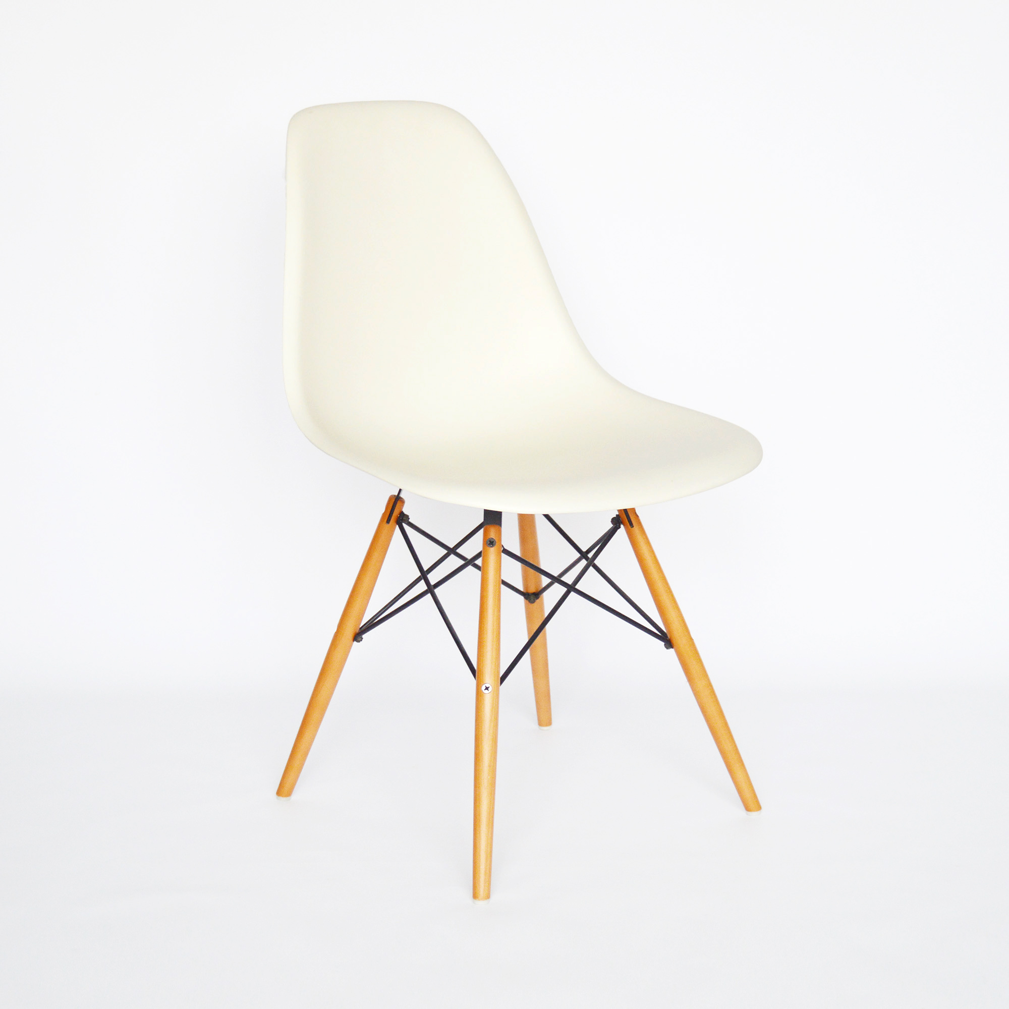 Vitra eames side chair dsw g nstiger bei midmodern for Kopie eames chair