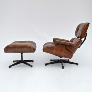 MidModern Herman Miller by Vitra | Eames Lounge Chair & Ottoman 1977