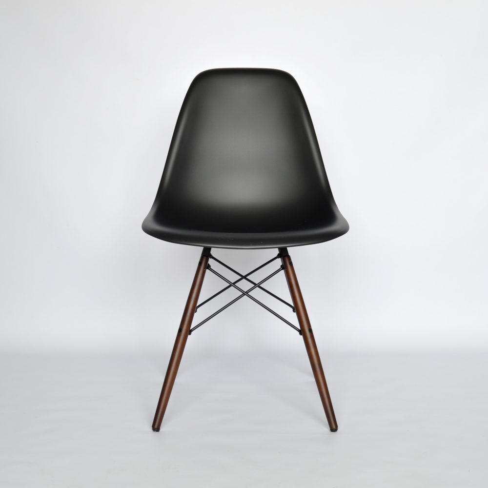 Vitra eames plastic side chair dsw schwarz neue for Vitra eames kopie
