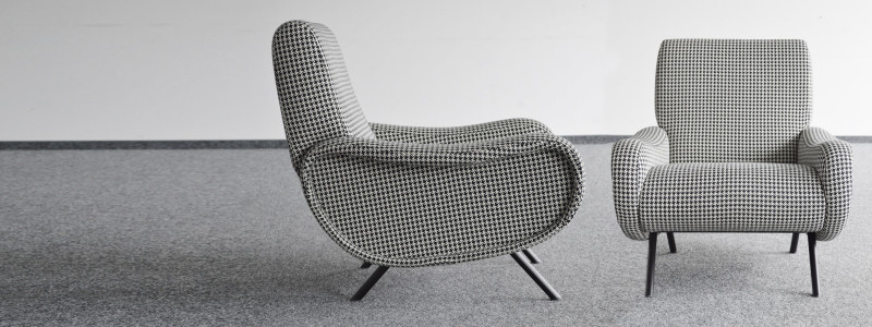 MidModern Lady Chair by Marco Zanuso Designer