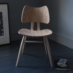 ercol 401 butterfly chair natural front