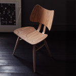 ercol 401 butterfly chair natural side