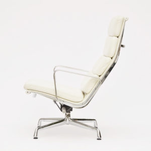 MidModern Eames Soft Pad Chair EA222 by Vitra for Herman Miller