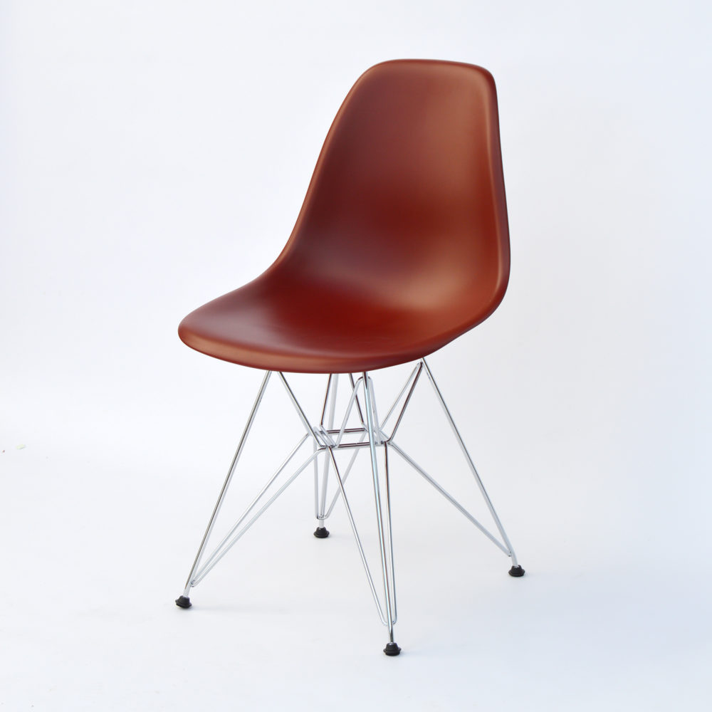 vitra eames plastic side chair dsr oxidrot nur 229. Black Bedroom Furniture Sets. Home Design Ideas
