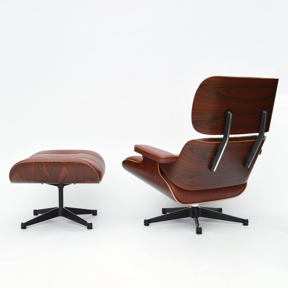 eames lounge chair von vitra brandy 16 rabatt jetzt bestellen. Black Bedroom Furniture Sets. Home Design Ideas