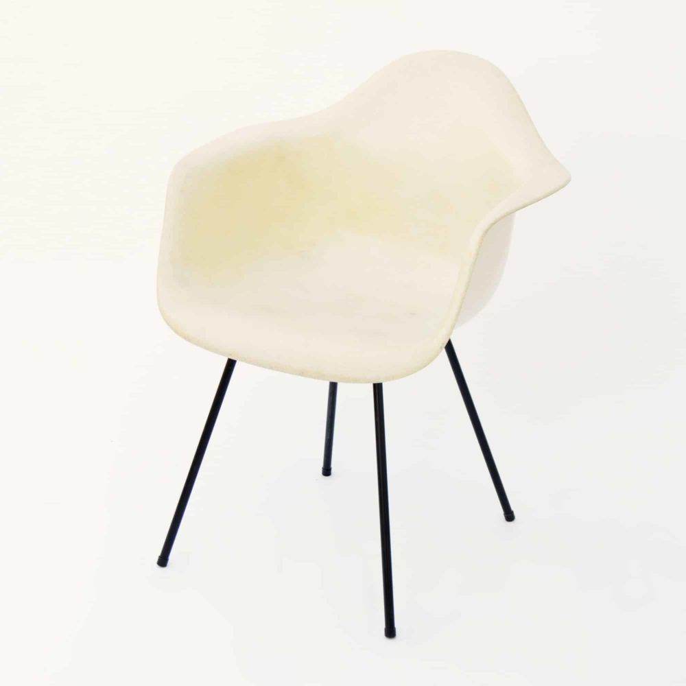 MidModern Eames Plastic Armchair DAX by Zenith Plastics for Herman Miller