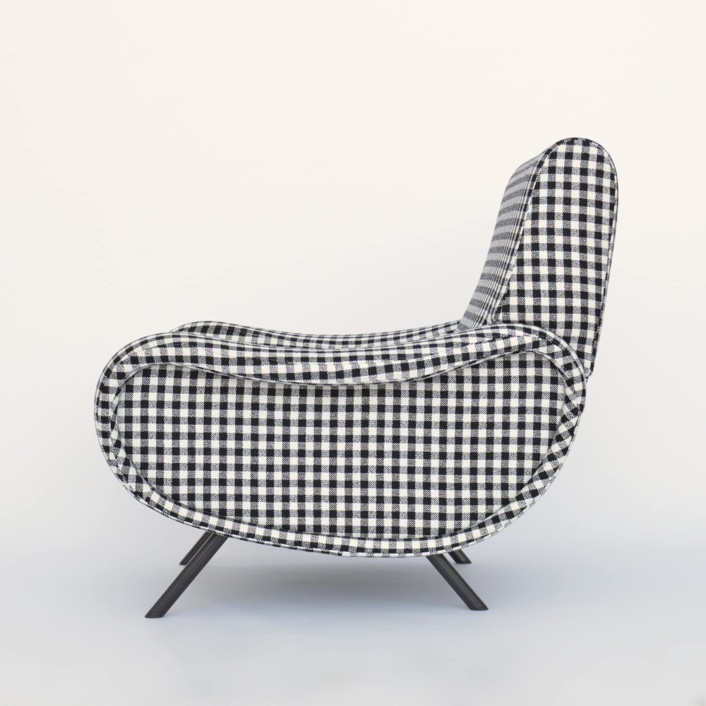 MidModern Cassina Lady Chair by Marco Zanuso