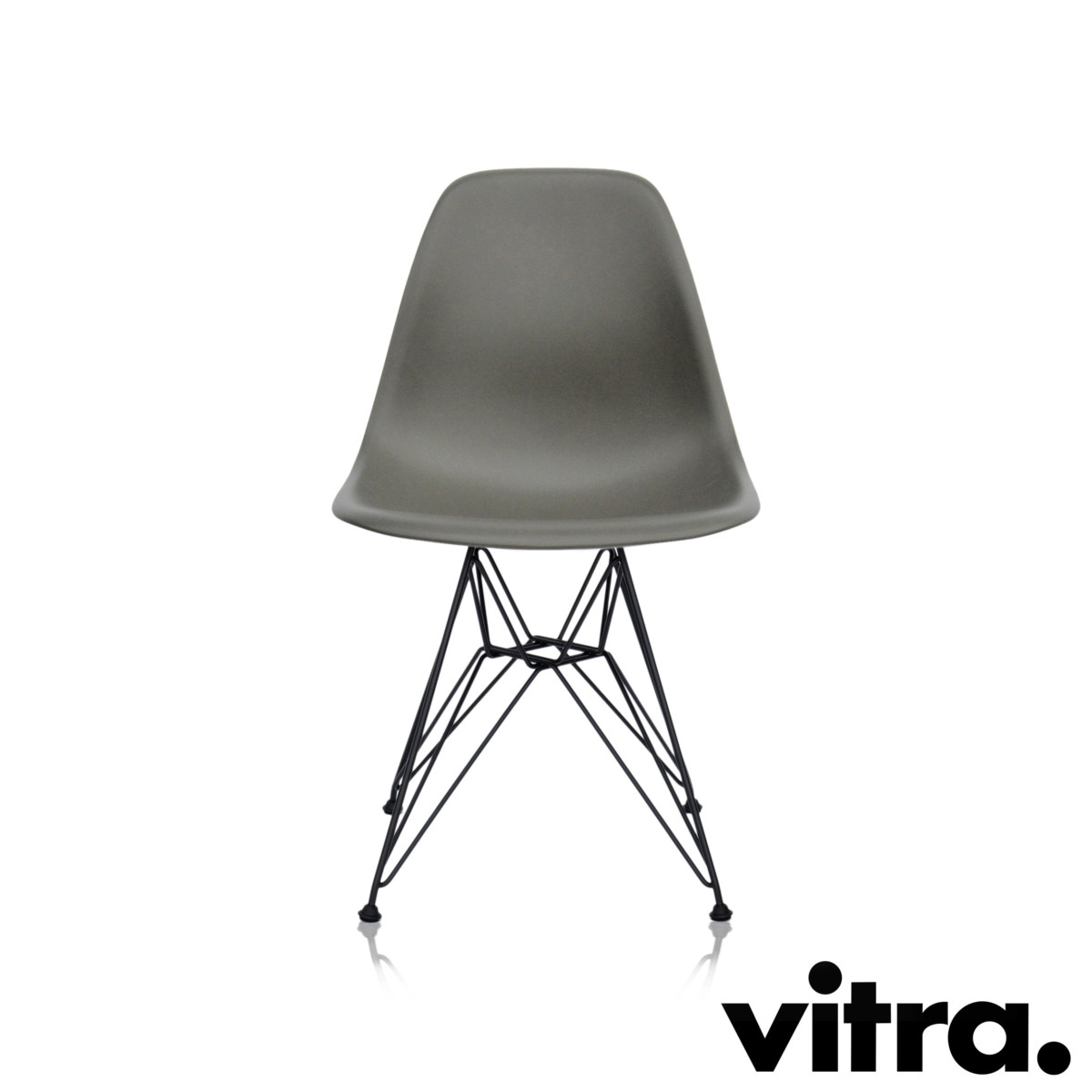 vitra eames plastic side chair basalt for 249 special price