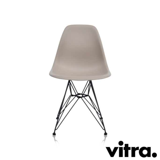 MidModern Vitra Eames Plastic Side Chair DSR - Mauve (outdoor)