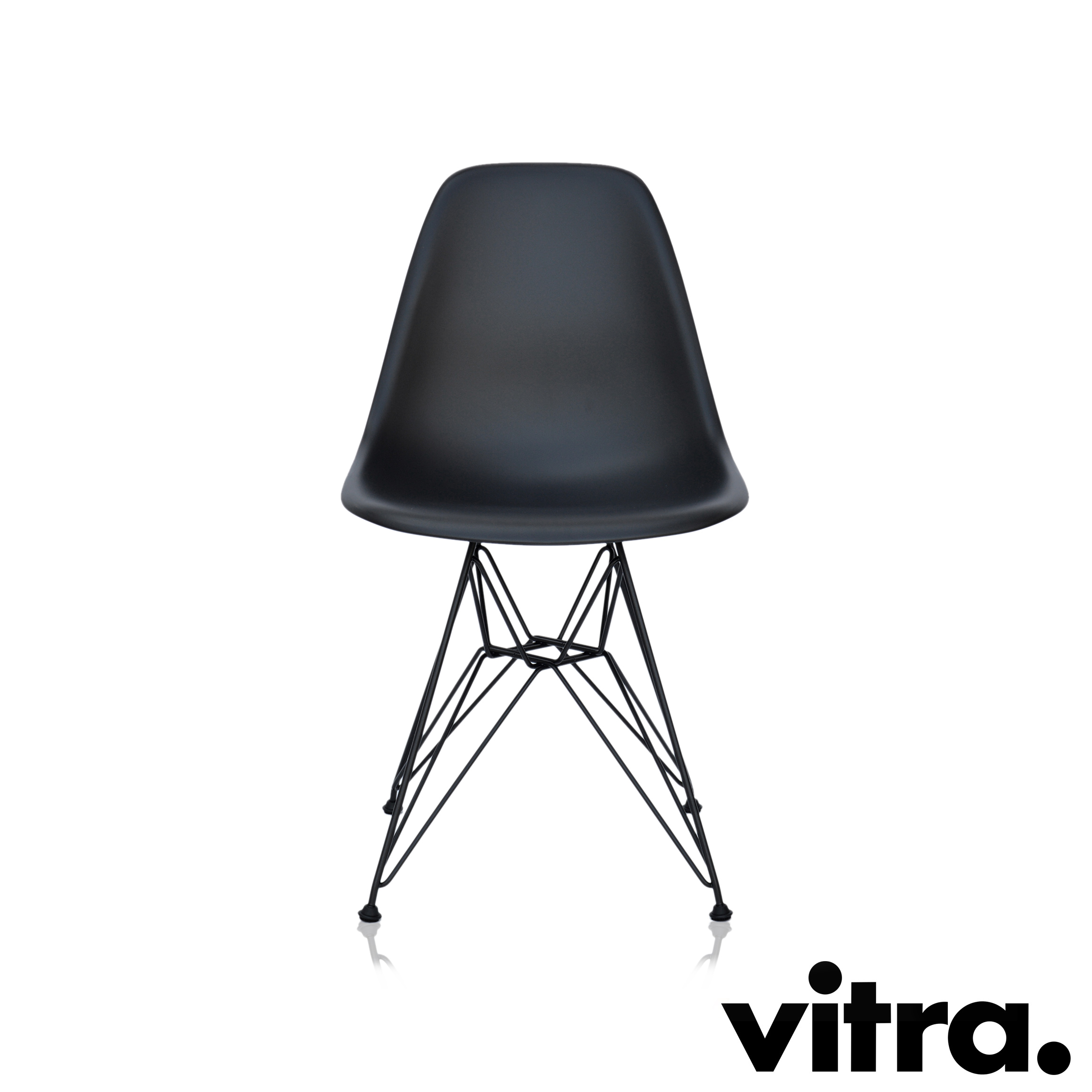 Plastic Darkoutdoor Side Basic Eames Vitra Dsr Chair L5ARj34
