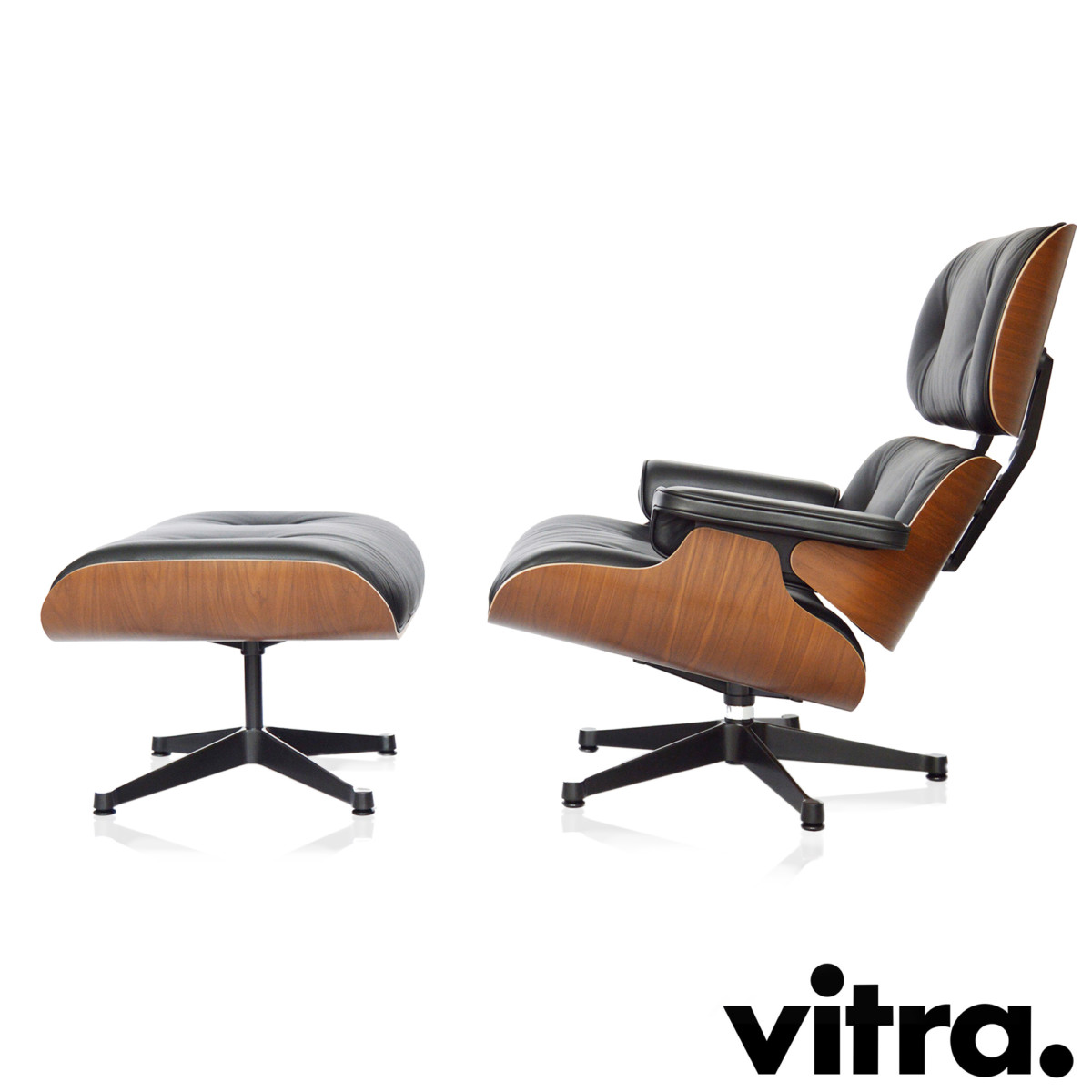Amazing Vitra Eames Lounge Chair Xl Ottoman Nussbaum Short Links Chair Design For Home Short Linksinfo
