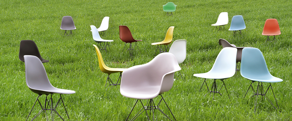 Vitra Eames Outdoor Chairs