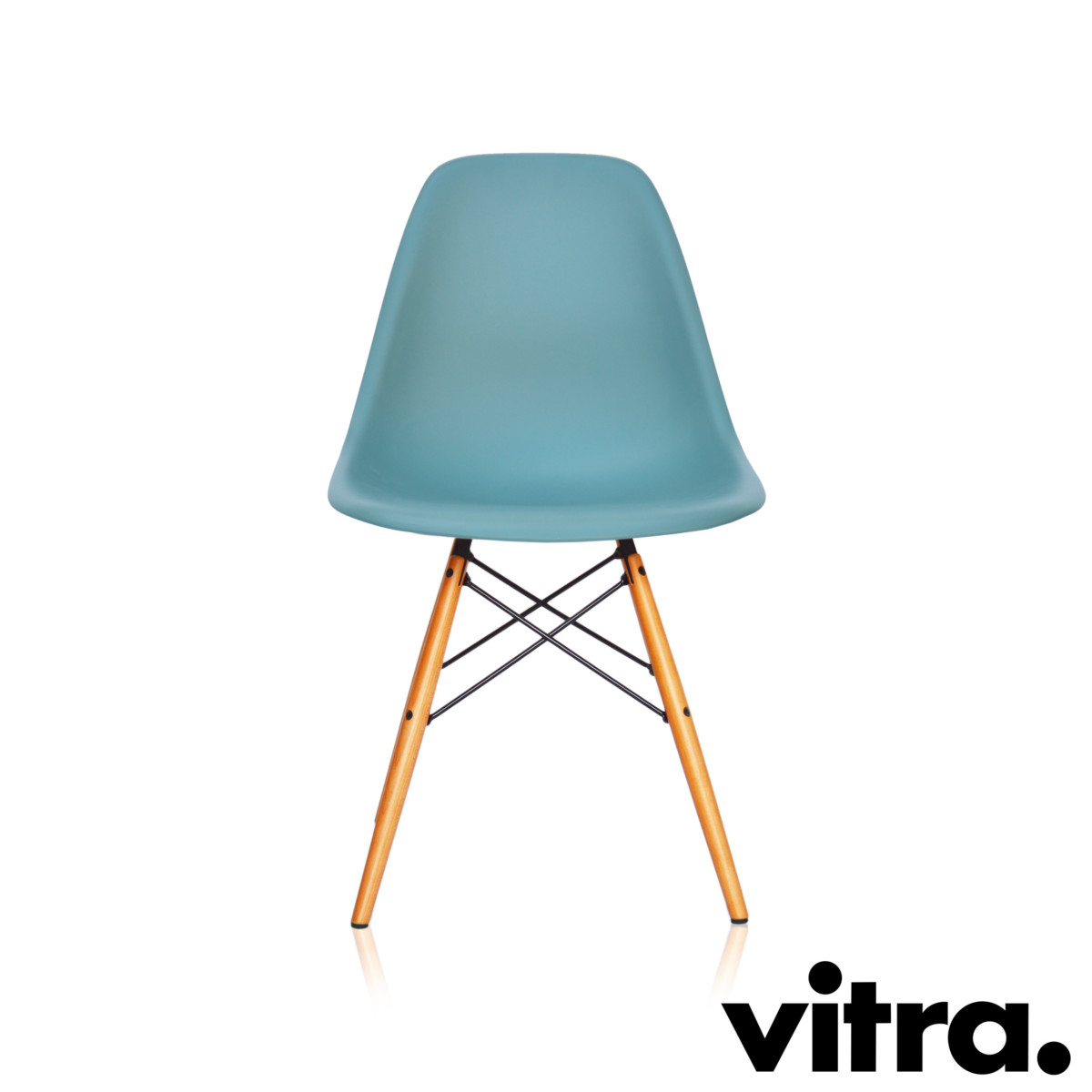 vitra eames plastic side chair dsw ocean ahorn neue h he. Black Bedroom Furniture Sets. Home Design Ideas