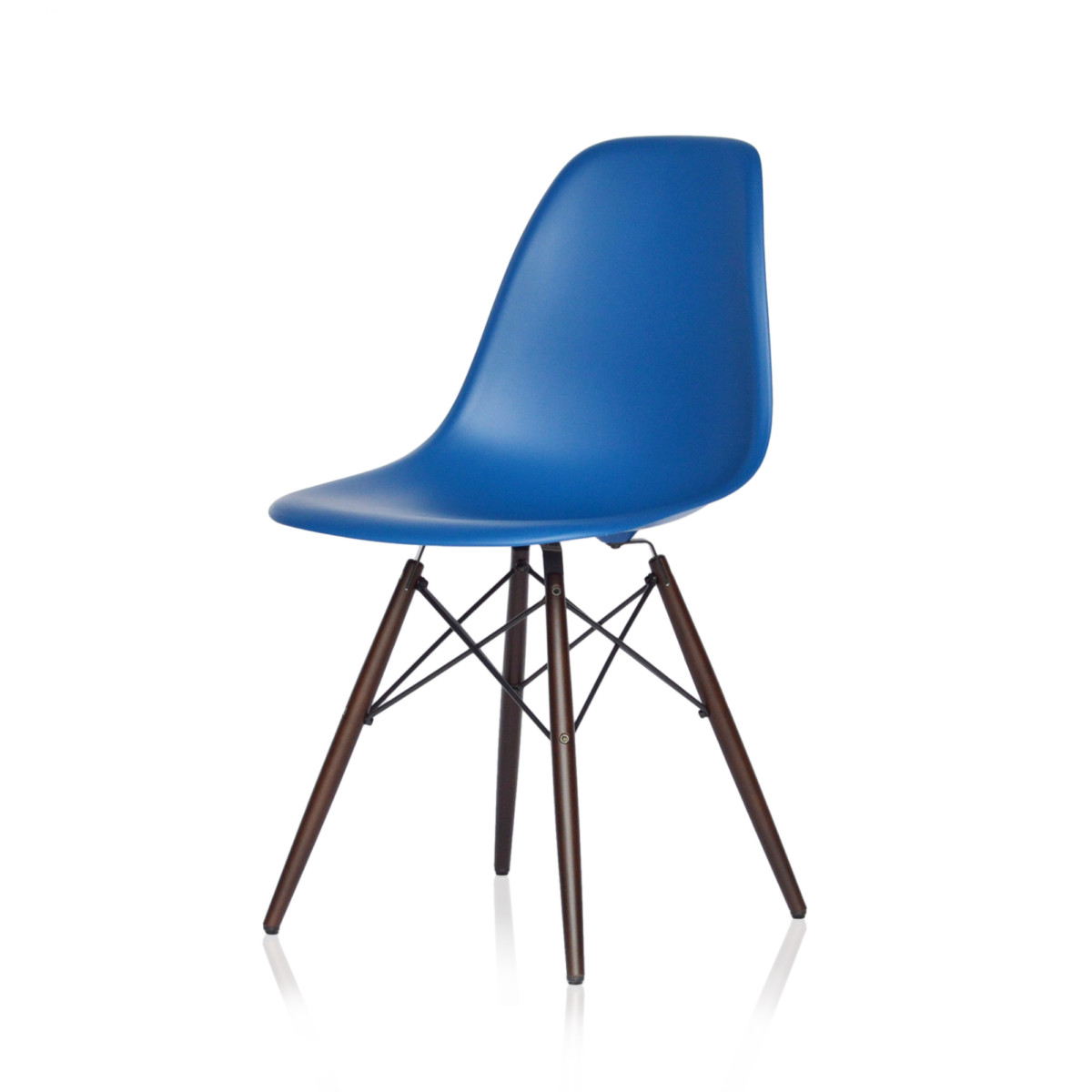 vitra eames plastic side chair dsw marineblau midmodern. Black Bedroom Furniture Sets. Home Design Ideas