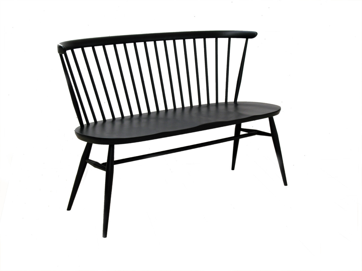 Admirable Ercol Bank Loveseat Black Alphanode Cool Chair Designs And Ideas Alphanodeonline