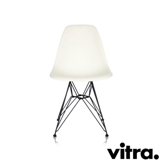 vitra eames plastic armchair daw creme. Black Bedroom Furniture Sets. Home Design Ideas