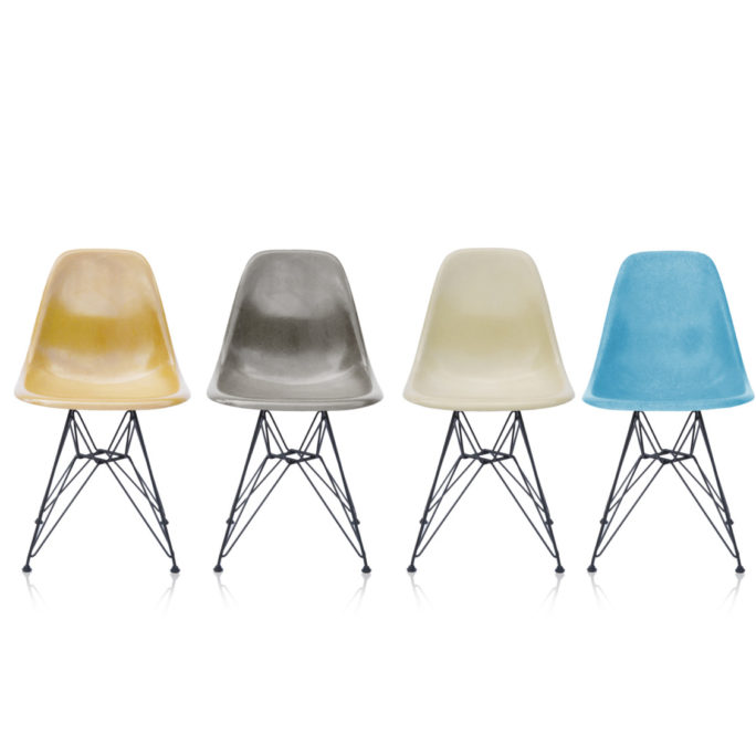 MidModern Eames Fiberglass Side Chairs - Set #13