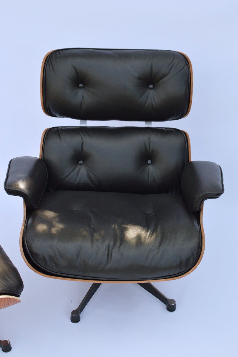 Fabulous Vintage Eames Lounge Chair Ottoman Palisander Herman Miller By Vitra Fehlbaum Gamerscity Chair Design For Home Gamerscityorg