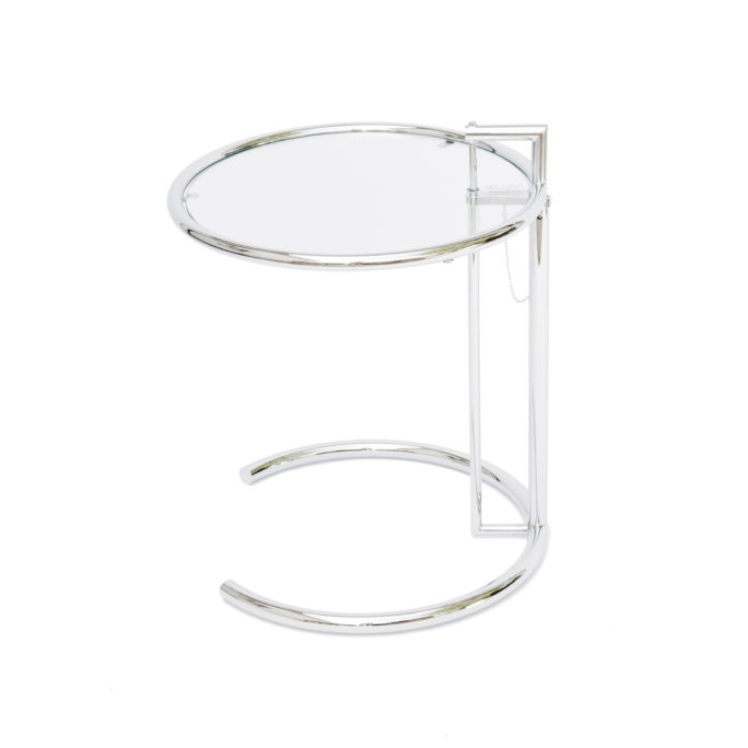 MidModern ClassiCon Adjustable Table E 1027 Design Eileen Gray